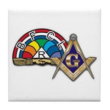 Masons supporting IORG Tile Coaster