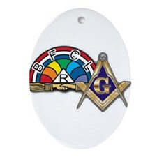 Masons supporting IORG Ornament (Oval)