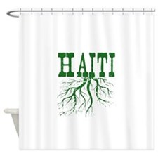 Haiti Roots Shower Curtain