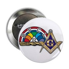 """Masons supporting IORG 2.25"""" Button (10 pack)"""