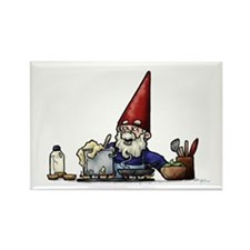 Chef Boy O' Boy Gnome Rectangle Magnet