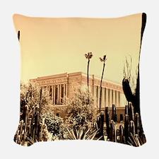 LDS Mesa Temple Woven Throw Pillow