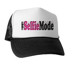 #Selfiemode (Pink) Trucker Hat