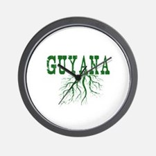 Guyana Roots Wall Clock