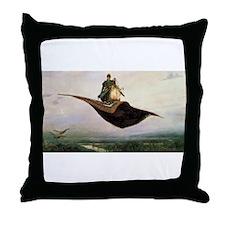 Magic Carpet Throw Pillow