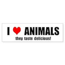 Animal Lover Bumper Bumper Sticker