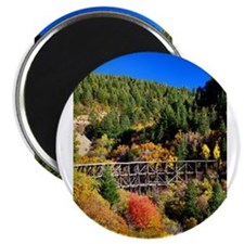 Funny Autumn mountains Magnet
