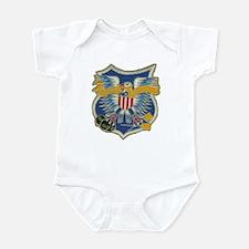USS EMBATTLE Infant Creeper