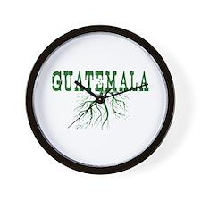 Guatemala Roots Wall Clock