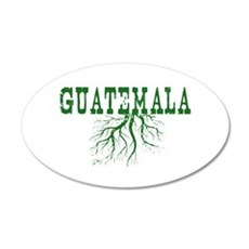 Guatemala Roots 20x12 Oval Wall Decal