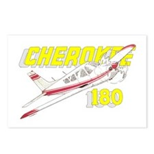 PIPER CHEROKEE 180 Postcards (Package of 8)