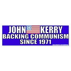 Anti-John kerry (Communism) Bumper Bumper Sticker