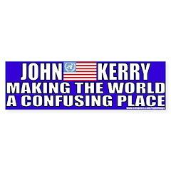 Anti-John Kerry (Flip Flop) Bumper Bumper Sticker