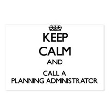 Keep calm and call a Plan Postcards (Package of 8)