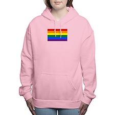 Gay Pride Flag Women's Hooded Sweatshirt