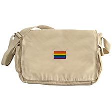 Gay Pride Flag Messenger Bag