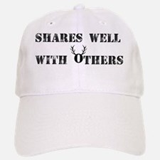 Shares well with others  Baseball Baseball Cap