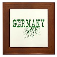 Germany Roots Framed Tile