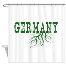 Germany Roots Shower Curtain