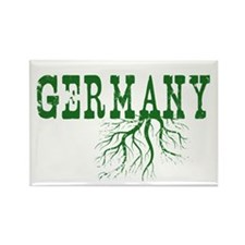 Germany Roots Rectangle Magnet (10 pack)