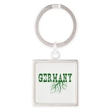 Germany Roots Square Keychain
