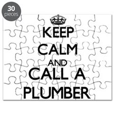 Keep calm and call a Plumber Puzzle