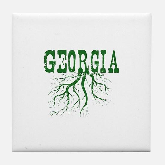 Georgia Roots Tile Coaster