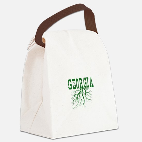 Georgia Roots Canvas Lunch Bag