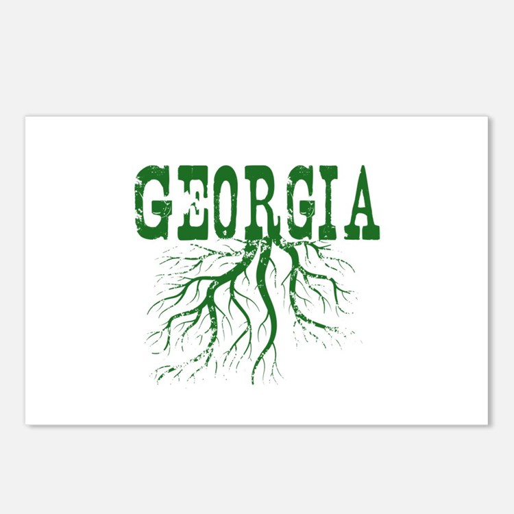 Georgia Roots Postcards (Package of 8)