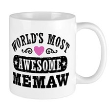 World's Most Awesome Memaw Mug