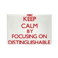 Keep Calm by focusing on Distinguishable Magnets