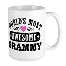 World's Most Awesome Grammy Ceramic Mugs