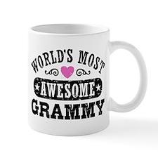 World's Most Awesome Grammy Small Mugs