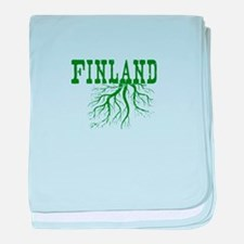 Finland Roots baby blanket