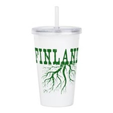 Finland Roots Acrylic Double-wall Tumbler