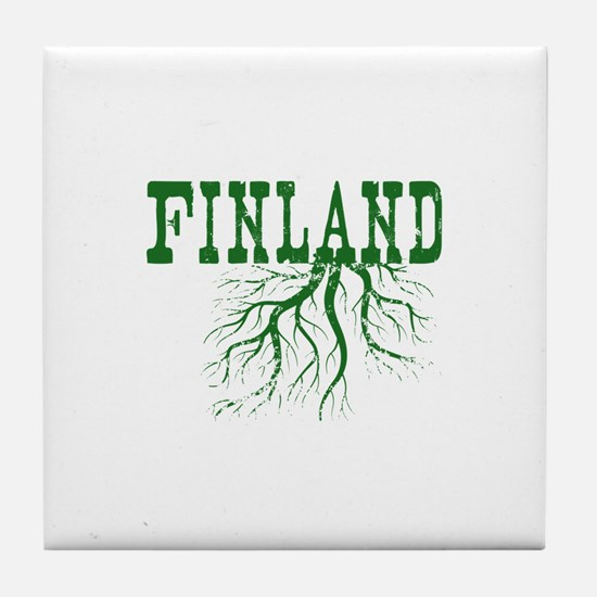 Finland Roots Tile Coaster