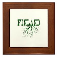 Finland Roots Framed Tile