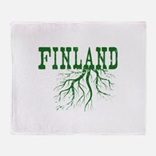Finland Roots Throw Blanket
