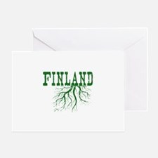 Finland Roots Greeting Card