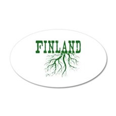 Finland Roots 20x12 Oval Wall Decal