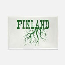 Finland Roots Rectangle Magnet