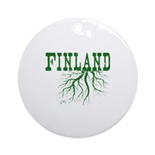Finland Roots Ornament (Round)