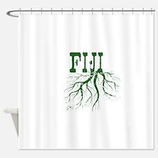 Fiji Roots Shower Curtain