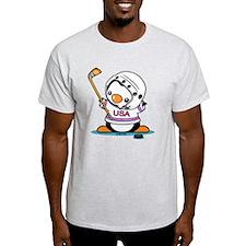 Ice Hockey Popo (1) T-Shirt