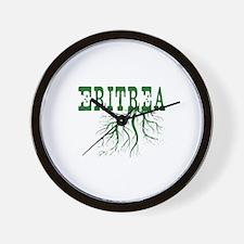 Eritrea Roots Wall Clock