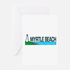 Myrtle Beach, South Carolina Greeting Cards (Packa