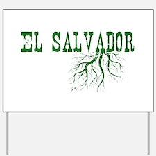 El Salvador Roots Yard Sign