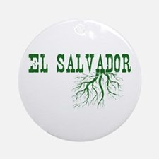 El Salvador Roots Ornament (Round)