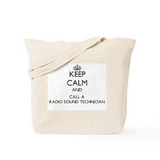 Keep calm and call a Radio Sound Technici Tote Bag
