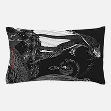 Tell-Tale Heart by Edgar Allan Poe Pillow Case